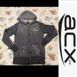 2/$15 size 10-12 boys ACX athletic sweater hoodie